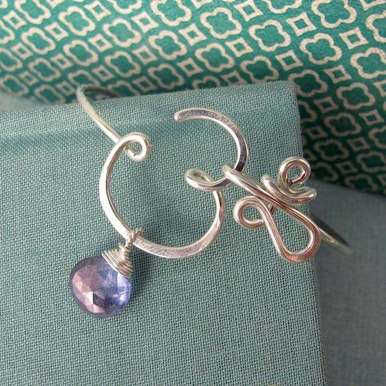 Crown Chakra Bracelet with Mystic Quartz