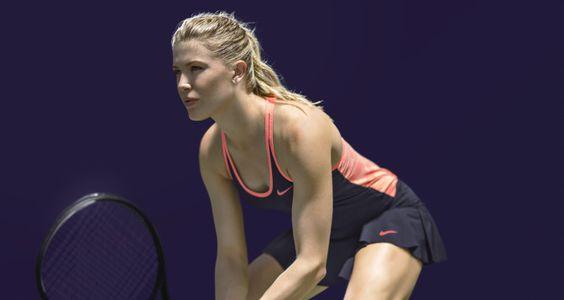 Eugenie Bouchard - NikeCourt Athletes Showcase Looks for New York 24.08.2015 #WTA #Bouchard