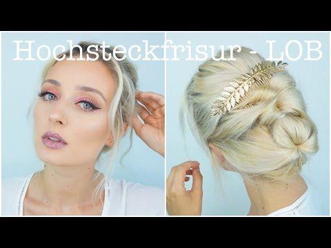 Hochsteckfrisur Fur Longbob Olesjaswelt Youtube Frisur Hochgesteckt Hochsteckfrisur Festliche Frisuren