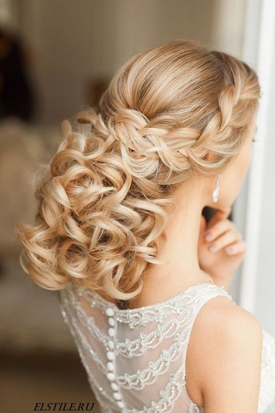 Elstile Long Wedding Hairstyle Ideas 16 / http://www.deerpearlflowers.com/26-perfect-wedding-hairstyles-with-glam/3/