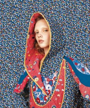 Tsumori Chisato ad. Phot by Richard and AD by S2A. And the first collection I worked with with her.