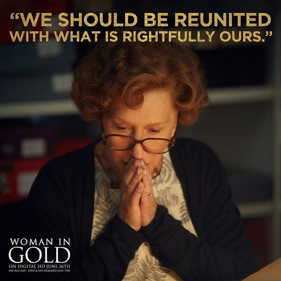 Woman in Gold movie, Helen Mirren, Ryan Reynolds: