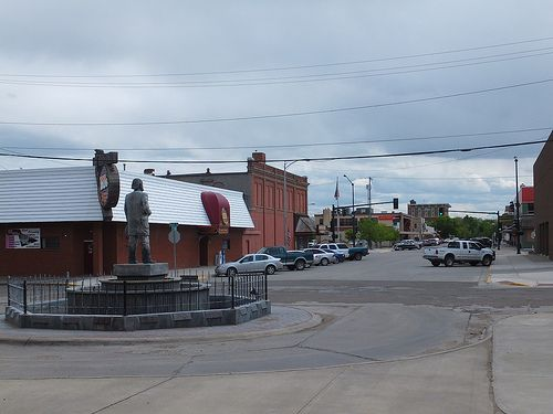 Statue of james j hill outside the train station of havre statue of james j hill outside the train station of havre montana montana big sky country and beautiful places sciox Choice Image