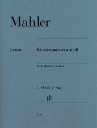 Klavierquartett a-Moll = Piano quartet in A minor / Gustav Mahler ; herausgegeben von = edited by Christoph Flamm ; Fingersatz der Klavierstimme von = fingering of the piano part by Klaus Schilde. Classmark: 879.D2.M6