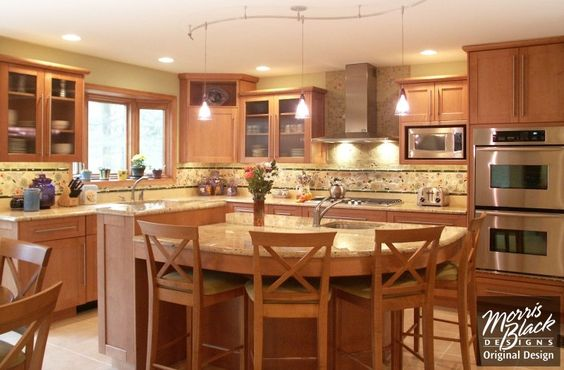 Kitchen Bi Level Kitchen Design Kitchen Ideas Kitchen Remodeling Morris Black Split