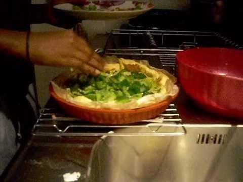 Cuisine - plat du jour : la quiche