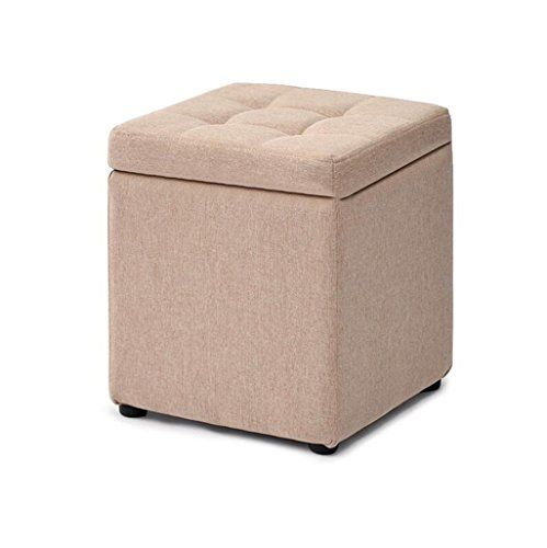 Zj Stool Sofa Dressing Change Shoes Stool Upholstered Foot Stool Foot Rest Small Chair Seat Pouf Storage Beanbag