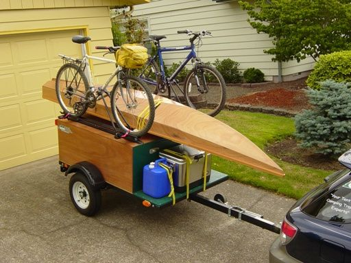 Diy Camping Gear Trailer Build Your Own Tent Trailer Image 5