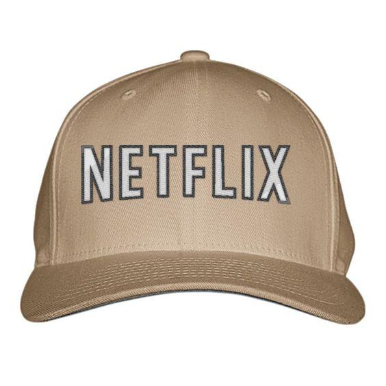 Netflix Embroidered Baseball Cap