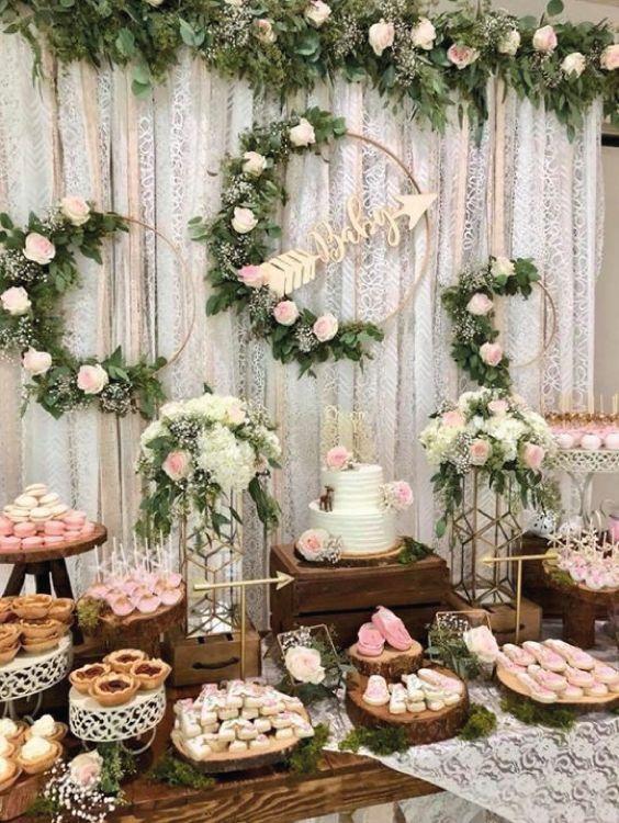 Adorables Ideas Para Fiestas Con Flores Cosas De Boda