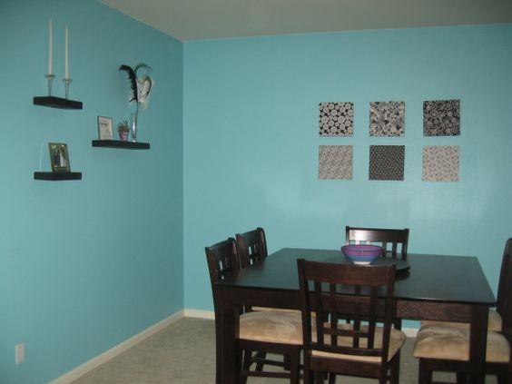 Behr Embellished Blue Blue Rooms Aqua Pinterest