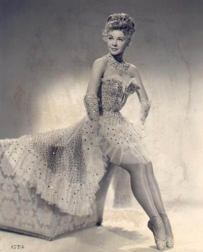 Vera Ellen ~ such a great dancer - loved her with Danny Kaye in White Christmas