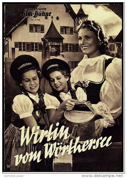 Poster zum Film: Wirtin vom Wörthersee. 1952