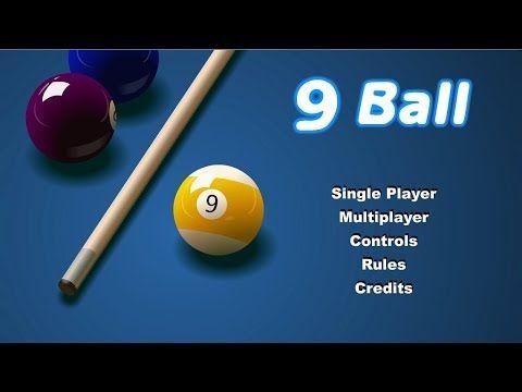 9 Ball Pool Swf Game My Try Pool Balls Ball Pool Games