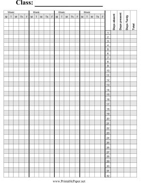 Attendance Spreadsheet Template Delectable Attendance Sheet 13  Dope  Pinterest  Attendance Sheet .