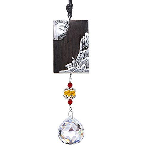 Clear Crystal Snowbeads Prism Hanging Suncatcher Ornament Decor for Window Set 3