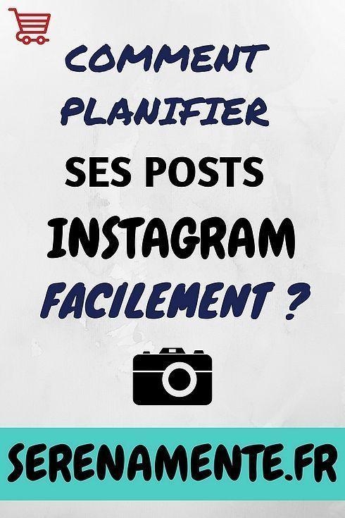 Comment Planifier Automatiquement Ses Posts Sur Instagram Conseils Instagram Instagram Comment Planifier