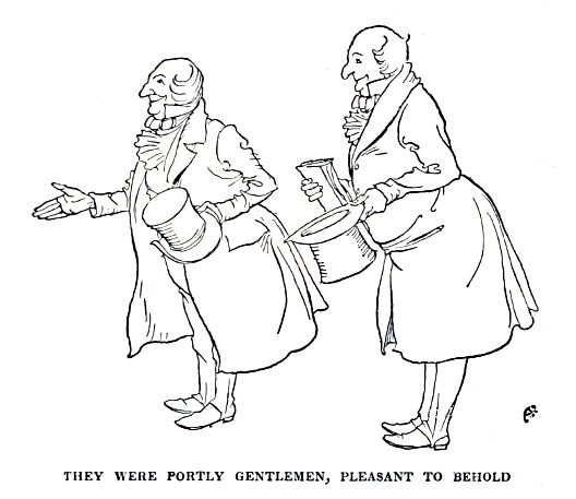 Quotes From A Christmas Carol Stave 4: They Were Portly Gentlemen, Pleasant To Behold