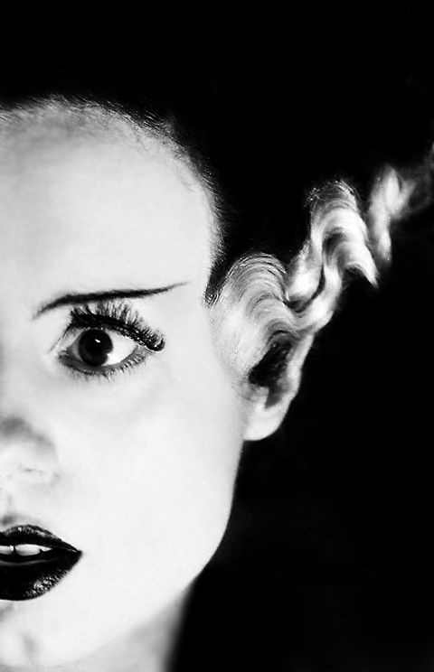 Elsa Lanchester in the Bride of Frankenstein c.1935