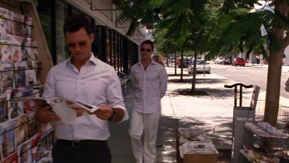 "Burn Notice 3x12 ""Noble Causes"" - Michael Westen (Jeffrey Donovan) & Mason Gilroy (Chris Vance)"