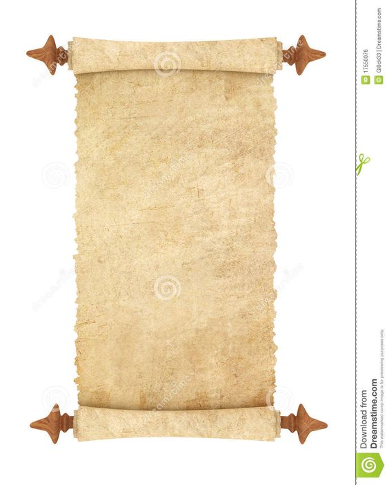 old fashoined scroll - Google Search