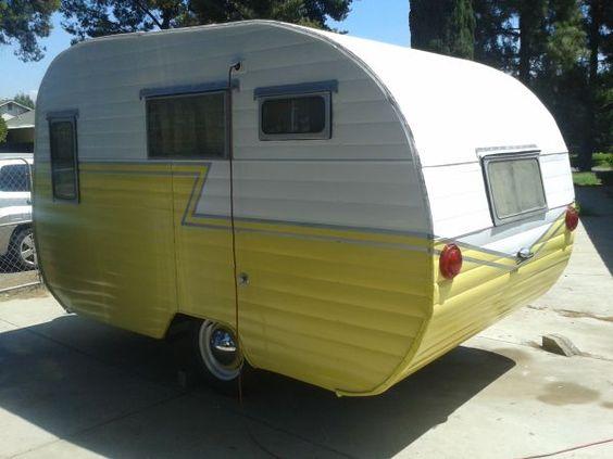 1957 Westerner vintage travel trailer