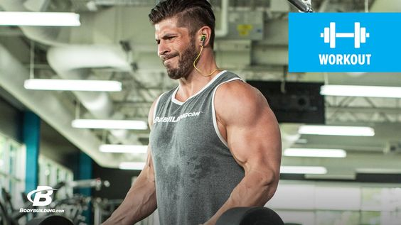 Brian Casad's Arm-Building Superset Workout!