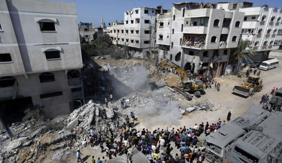 Gaza City's Sheikh Radwan neighborhood