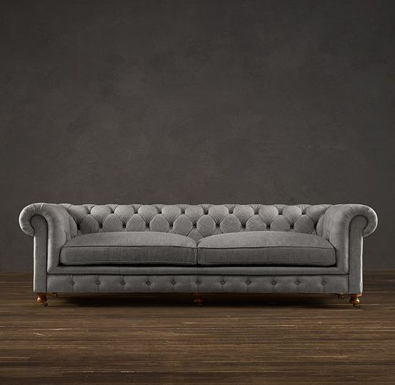"My next couch 98"" Kensington Upholstered Sofa in"