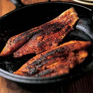 BLACKENED CATFISH - found this years ago in Southern Living Magazine and have been making it ever since.