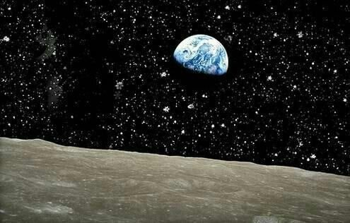Earth - Erde  Mond (Moon)