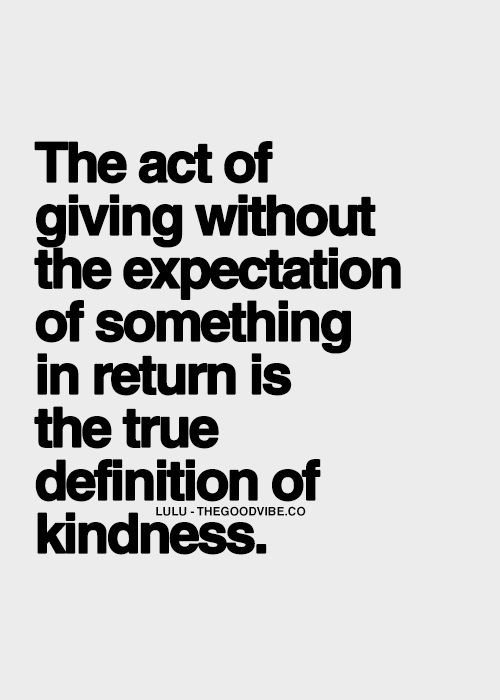 There are very few who have proved this kindness over the months of hardship - I will never forget their generosity and help!