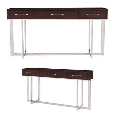 Belle Meade Signature Oscar Available Finishes Espresso Luxe 72 W X 18 D X 36 H Furniture