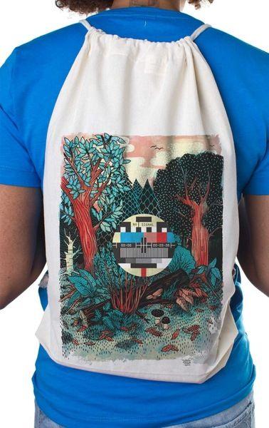 Forrest Turnbeutel Natur von YACKFOU auf DaWanda.com