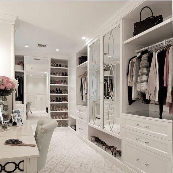 20 Dreamy Walk In Closet Ideas Plan Domu Luksusowe Domy Wnetrza