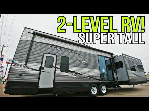 Twin Level Destination Travel Trailer Rv From Jayco 40loft In 2020 Travel Trailer Rv Jayco