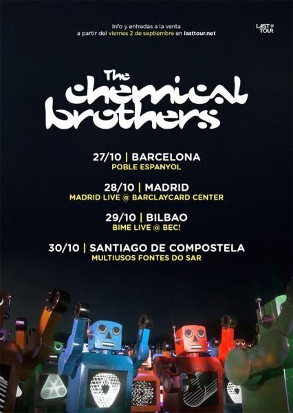 Compra ya tus entradas para Concierto The Chemical Brothers en Santiago de…