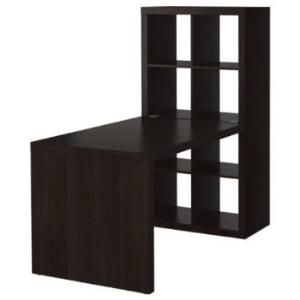 Ikea Expedit Desk and Bookcase Cube Display by TowelRACKED | Caroleu0027s room  | Pinterest | Posts, Bookcases and Desks