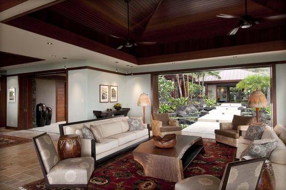 Picturesque living. #design #msd #hawaii #livingroom
