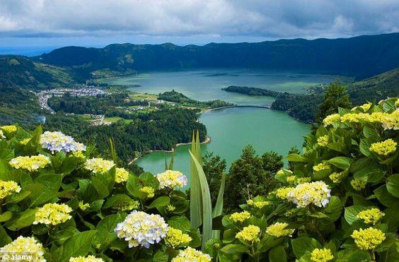 Lagoa Verde/Lagoa Azul, Azores