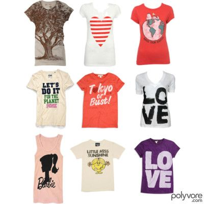 Like the LOVE shirts and the striped hearts for some nail designs