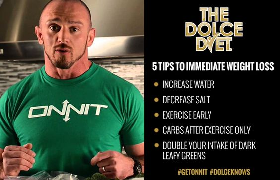 If you want to cut weight, take advice from the man responsible for getting the top UFC: Ultimate Fighting Championship fighters ready for competition.The Dolce Diet Essential Knowledge.