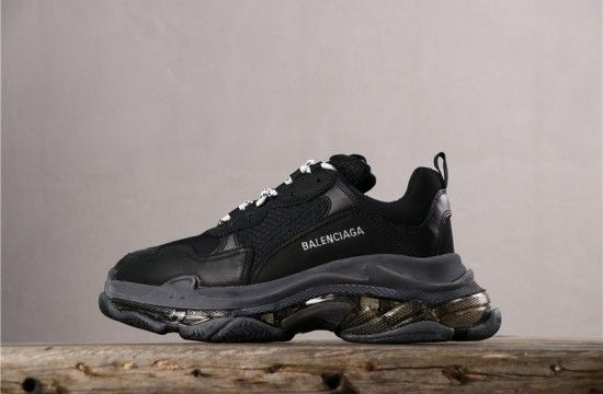 Balenciaga Triple S Clear Running Shoes Green Buy Online