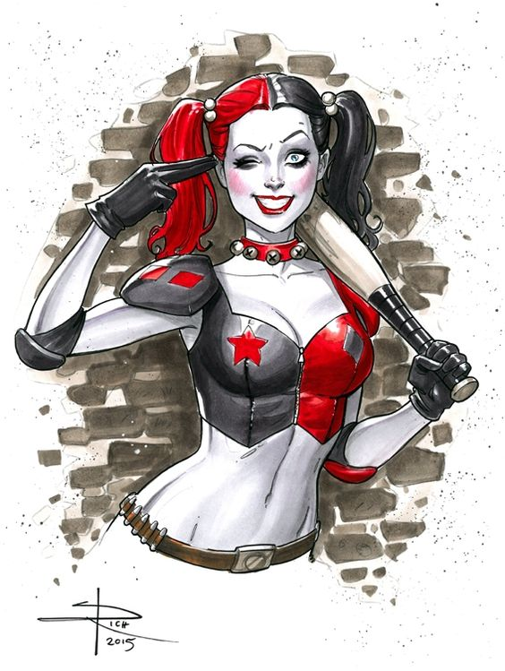 Harley Quinn by Sabine Rich Comic Art