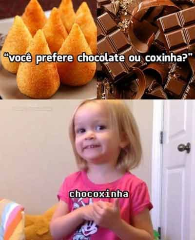 Chocoxinha!
