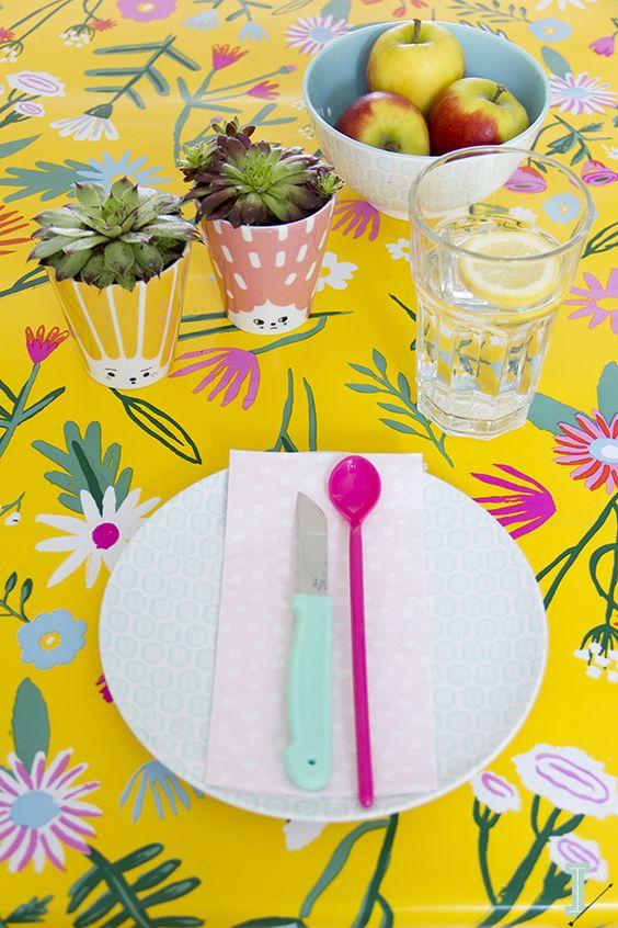 Urban Jungle Bloggers: Planty Table Setting by @idalifestyle