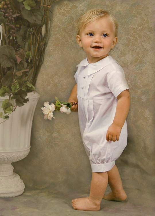 Tyler Christening Baptism Outfit $55.50- can't decide if shorts are ok or not. It will be July, but I don't really like the idea of shorts in a catholic church :/