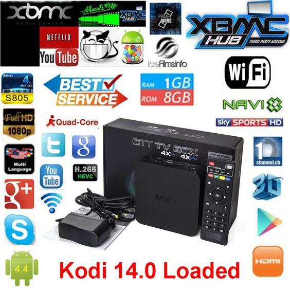Vensmile MXQ tv box, Kodi предварительно установлен Amlogic S805 четырехъядерных процессоров андроид 4.4 лучше , чем cs918, Q7, M8, Mx, Смарт телевизор коробка купить на AliExpress