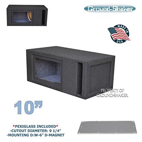 10 Single Slot Ported Bandpass Sub Box Ct Sounds Subwoofer Box Design Sub Box Speaker Box Design