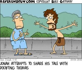 Cartoon for use in sermon?: